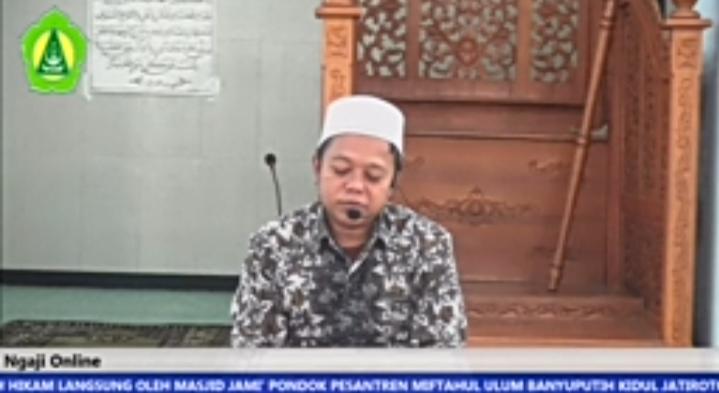 Ngaji Online bersama Kepala Madrasah (16 Ramadhan 1441)