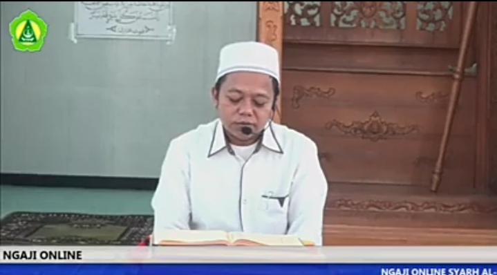 Ngaji Online bersama Kepala Madrasah (19 Ramadhan 1441)