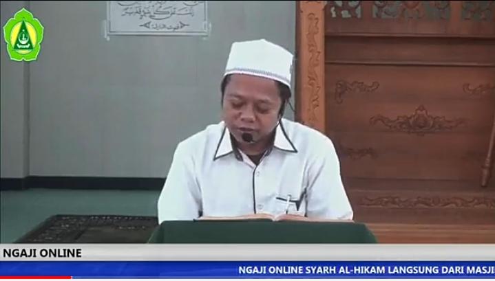 Ngaji Online bersama Kepala Madrasah (21 Ramadhan 1441)