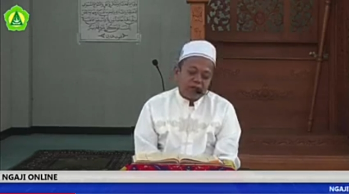 Ngaji Online bersama Kepala Madrasah (28 Ramadhan 1441)